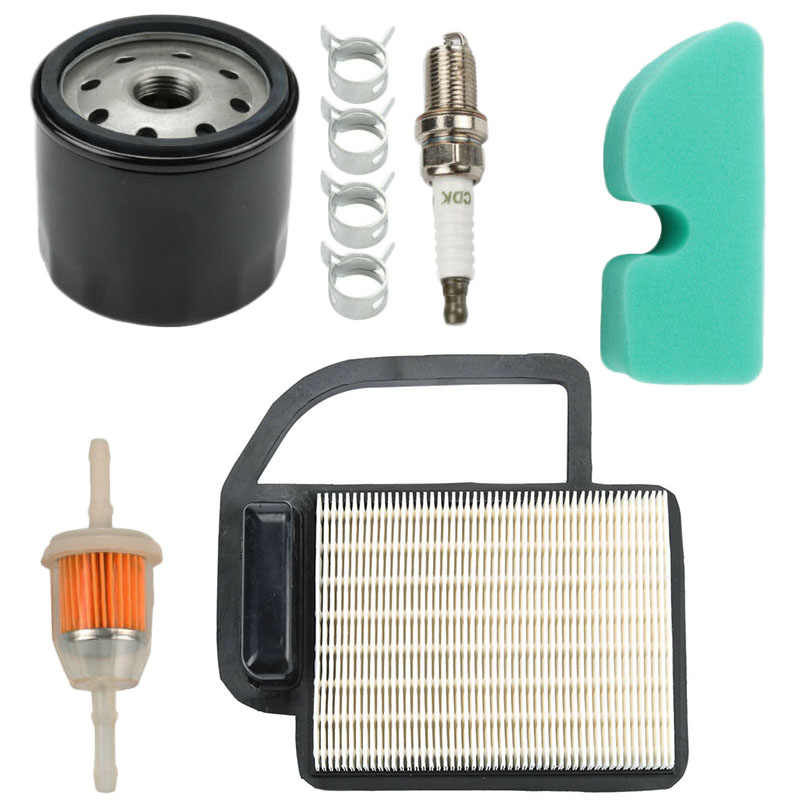 Parts Air fuel filter Spark plug For Cub Cadet LT1045 LT1042 19HP Kohler Courage Replacement