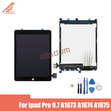 For iPad Pro 9.7 inch A1673 A1674 A1675 Replacement LCD Assembly Touch Screen Panel Digitizer 9.7-inch Black White Glass senor(China)