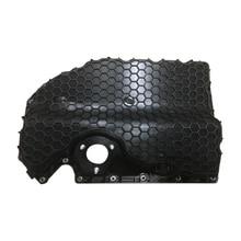 DWCX 06K103600R Black Plastic Car Interior Engine Oil Pan 06K103598A G Fit for 2.0TSI VW Golf MK7