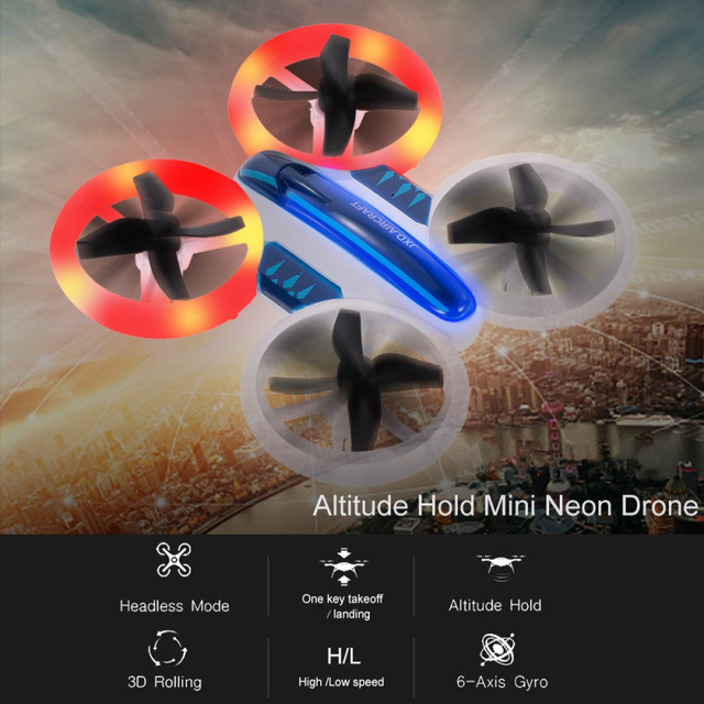 Mini Electric RC Drone Quadcopter One Key Return RC Helicopter Quadcopter Mini Dron Best Toys For Kids Remote Controller Toys