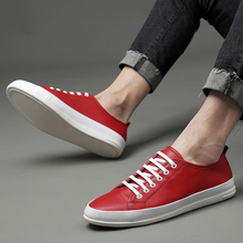 Split Leather Shoes Soft Leisure Youth Shoes Genuine Leather Men White Sneakers Men's Casual Shoes Male Lace up Tennis Footwear g n shi jia black genuine leather upper rubber outsole men s leisure shoes sewing soft outdoor retro male casual shoes 888330