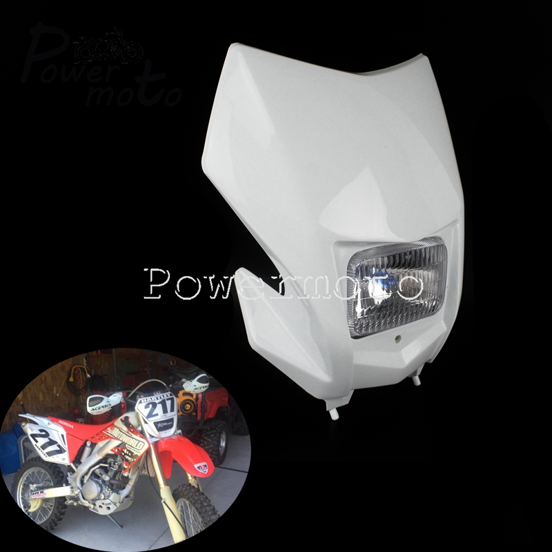 Motocross Headlight Racing HI LO Beam Dirt Bike Front Light For Honda CRF 230F 150F 250R 450R 450L Yamaha Kawasaki KTM 2020