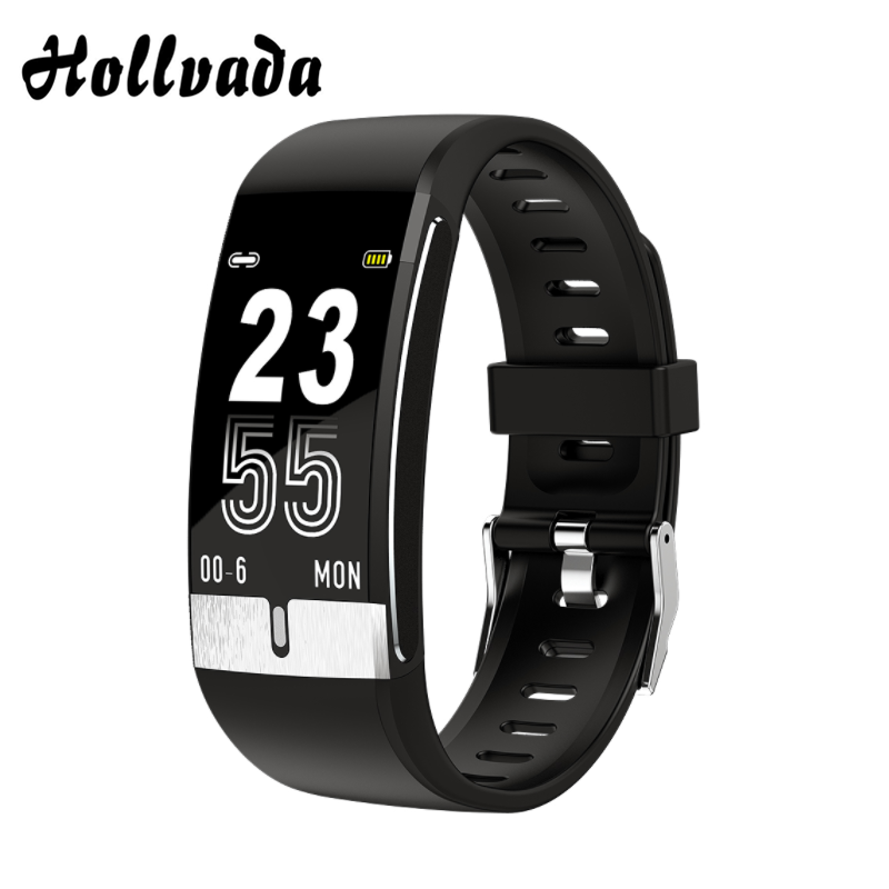 2020 Smart Watch E66 Body Temperature ECG PPG Heart Rate Blood Pressure Oxygen Fitness Tracker Bracelet Smart Band Men Women