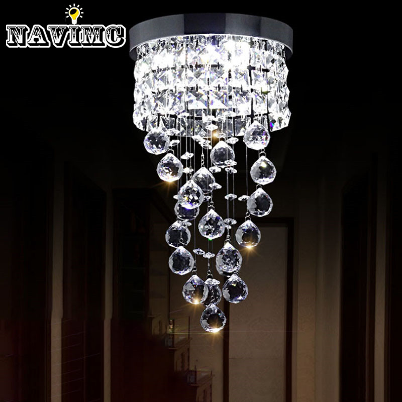 Led Small Crystal Chandelier
