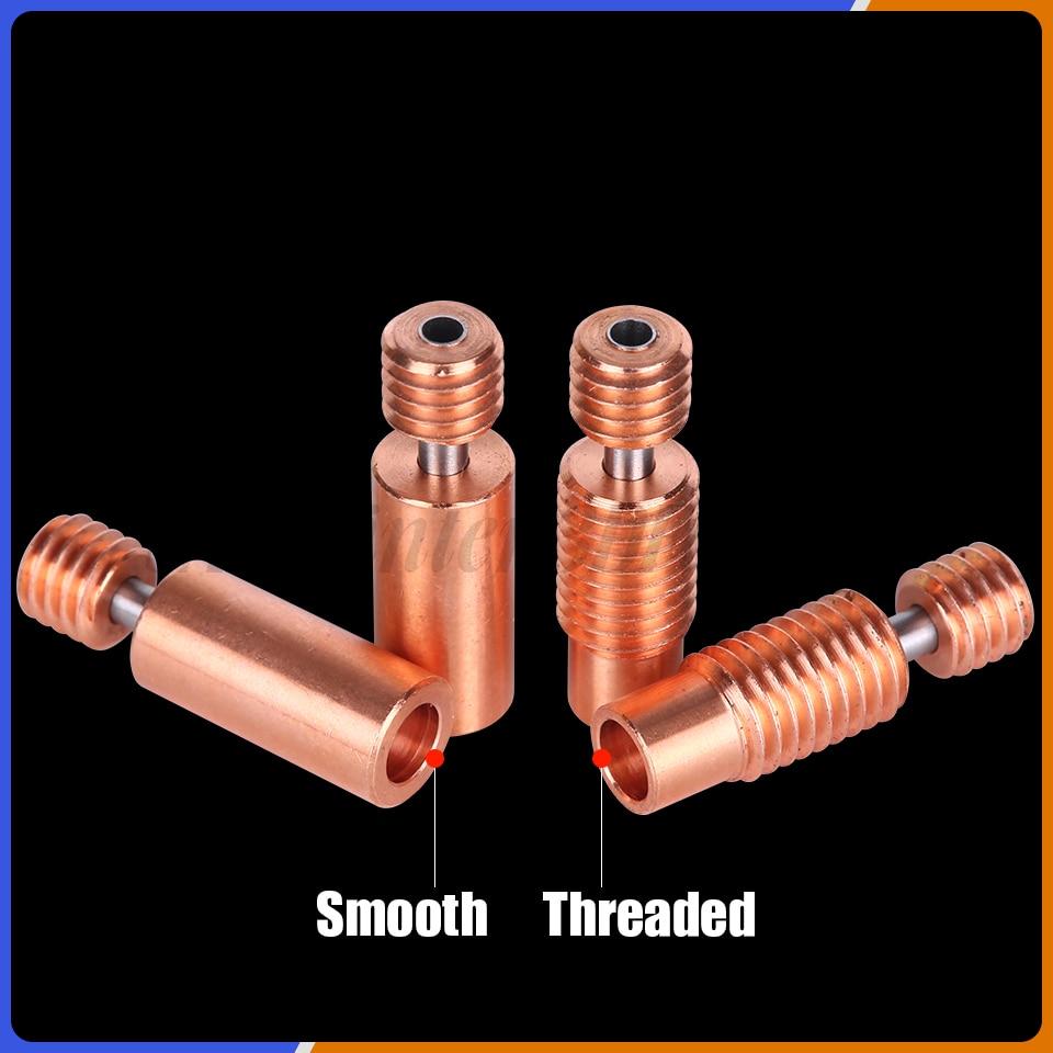 lowest price Bi-Metal Heatbreak Bimetal Heat break for E3D V6 hotend heater block for Prusa i3 MK3 Break 1 75MM Filament Smooth