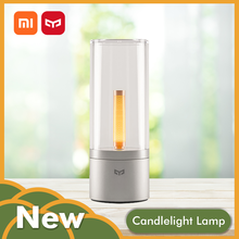 Xiaomi Yeelight Night Lamp Wireless Mijia Dimmable Smart Led Ambiance Candle Light Romantic Present App control Global Version