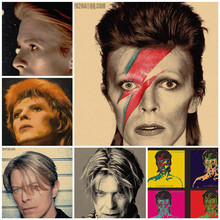 David Bowie classic nostalgic retro poster home decor painting