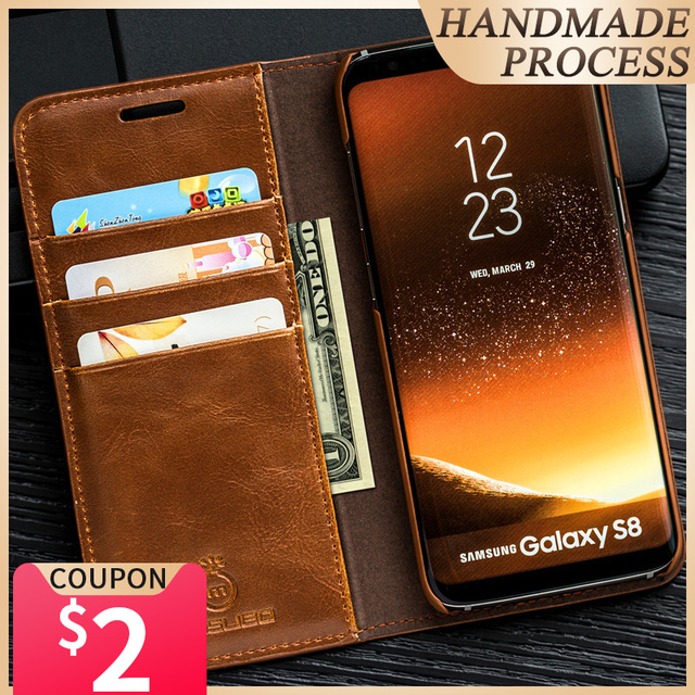 Musubo Luxury Case For Galaxy S20 Plus Flip Cover For Samsung S20 Ultra Card Leather Casing Wallet Funda S10E S9 Plus For iPhone