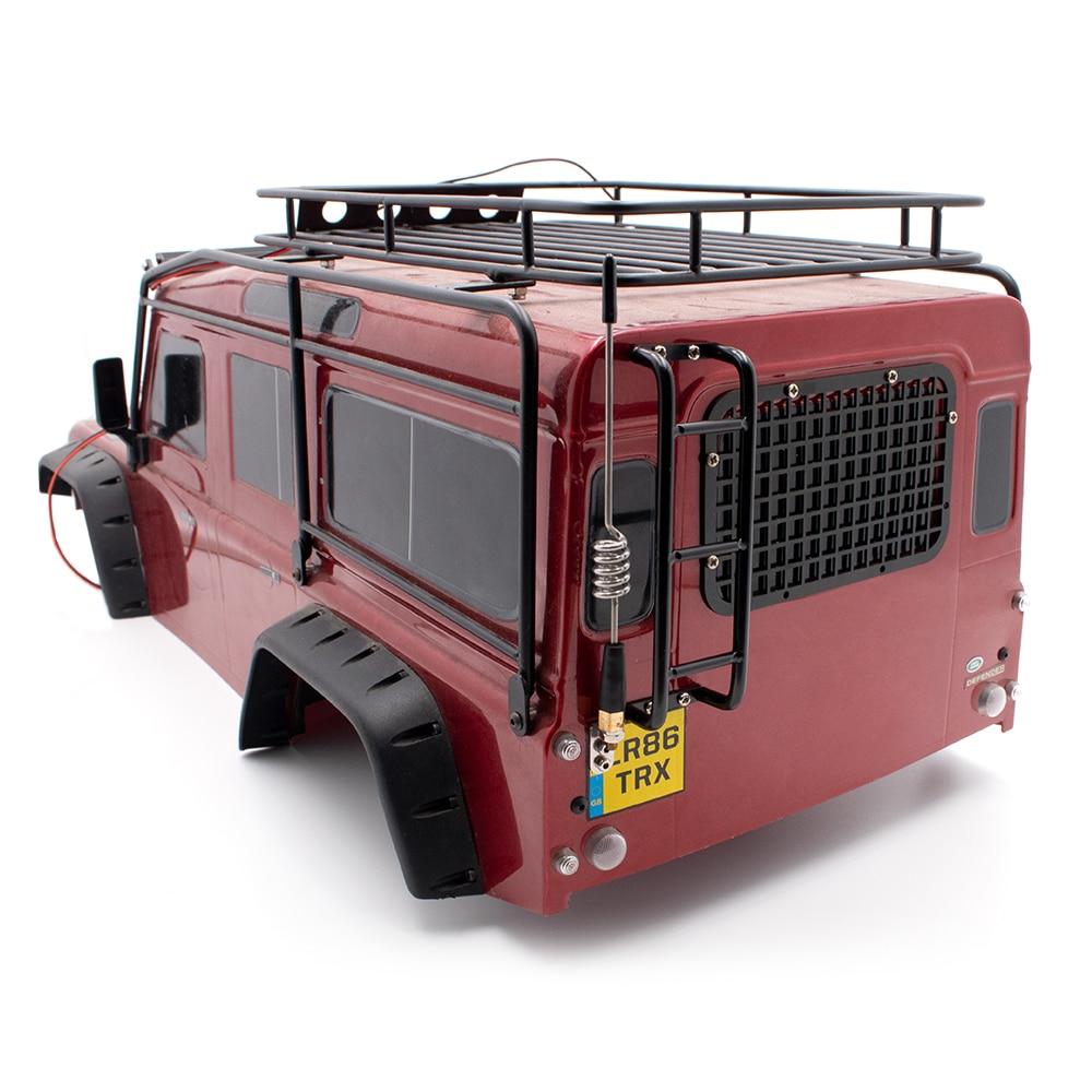 Rc Crawler Car Body Rear Metal Ladder For 1:10 Scale Remote Control Car Traxxass Trx4 TRX-4 T4 Defender