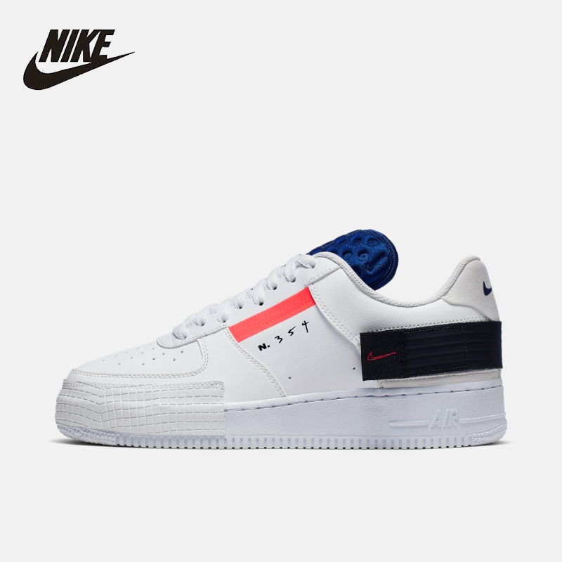 Nike AF1 Tipo Homens Das Sapatilhas Originais Casuais Confortáveis Sapatos de Skate Ao Ar Livre # CI0054