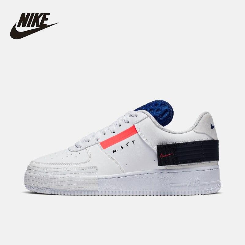 Nike AF1 tipo zapatillas de hombre Original Casual cómodo al aire libre Skateboard zapatos # CI0054