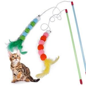 Brinquedos macios e coloridos para gatos, brinquedo para gatos, gatinhos, brinquedos interativos, 1 peça suprimentos esd2