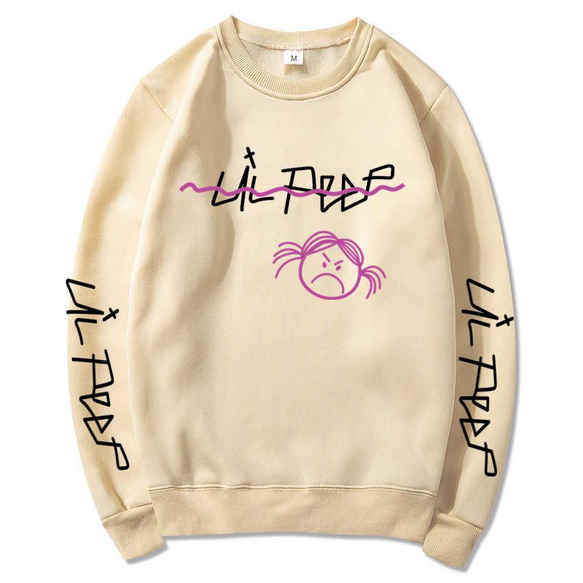 새로운 2020 편지 인쇄 남자의 까마귀 패션 브랜드 스웨터 탑스 풀 오버 후드 겨울 가을 남성 여성 면화 weatshirt
