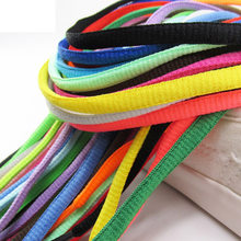 1Pair 130cm Unisex Multicolor Oval Athletic Shoelaces Sports Outdoor Sneakers Boots Shoe Laces Strings Shoe Rope Casual Shoelace(China)