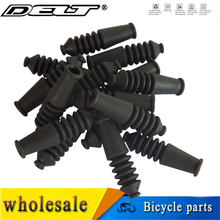 Caps Brake-Tube Black-Accessories Guide-Pipe Bike Mountain Bicycle-V MTB Rubber Boot