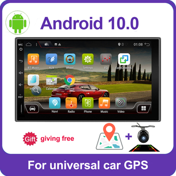 PX6 4GB+64GB 2din 1 DIN car radio gps android 10 car stereo player recorder Radio Tuner GPS Navigation support SWC DSP HDMI image