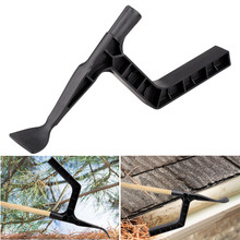 Black garden Groove cleaning tool for roof Hand Tool Gutter Tool for Farm Gutter Skylights Roof Structure Cleaning Tools черепица гибкая рулонная tegola garden roof красная