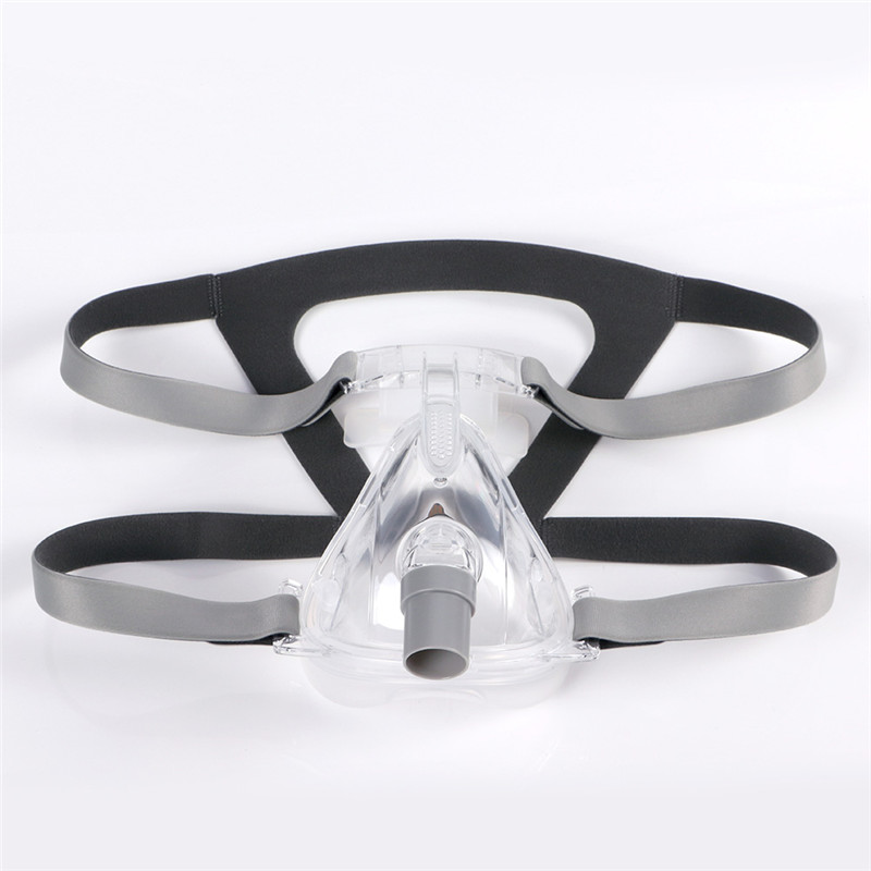 Full Face CPAP Mask Auto with Adjustable Headgear Strap Clip for Sleep Apnea Patient 12