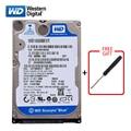 """WD marque 160Gb HDD 2.5 """"SATA disque dur interne 3 Gb 6 Gb/s disque dur HD 5400 7200RPM disque dur bleu pour ordinateur portable livraison gratuite   -"""