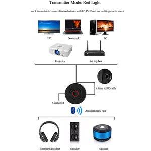 Image 4 - VIKEFON 2 IN 1 Bluetooth 5.0 4.2 alıcı verici RCA 3.5mm 3.5 Jack AUX Stereo araba kablosuz ses adaptörü PC için TV hoparlör