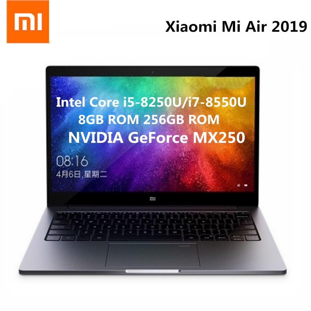 Xiaomi Mi Air 2019 13.3 Inch Laptop Windows 10 Intel Core I5-8250U/i7-8550U 1.6GHz 8GB RAM 256GB SSD Fingerprint Sensor