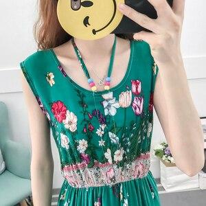 Image 5 - Vestido de verano de talla grande de flores, bohemio