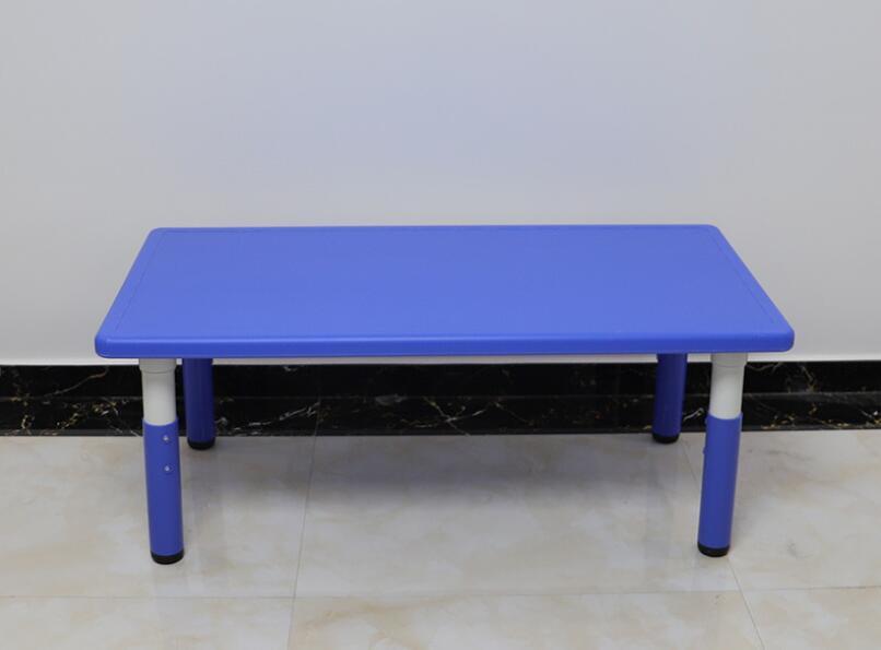 120*60cm Adjustable Height 48-60cm Kindergarten Desk Children Rectangular Table