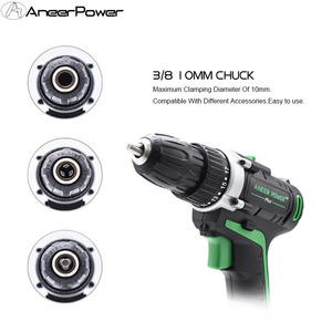 Image 3 - 25V 21V 16V 12V Plus Double Speed Electric Drill Cordless Hand Drill Mini Electric Screwdriver Rechargable Lithium Battery Drill