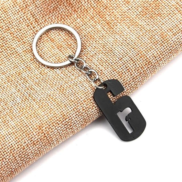 Hot Rainbow Six Keychain Siege 6 Key Ring Holder Fashion Car Chaveiro Game Key Chain Pendant men Gift Jewelry 5