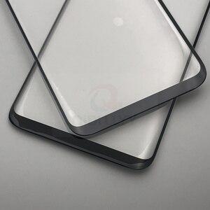 Image 4 - S8 + S9 + استبدال الزجاج الخارجي لسامسونج غالاكسي S8 S8 زائد S9 S9 Plus شاشة إل سي دي باللمس شاشة الجبهة الزجاج الخارجي عدسة