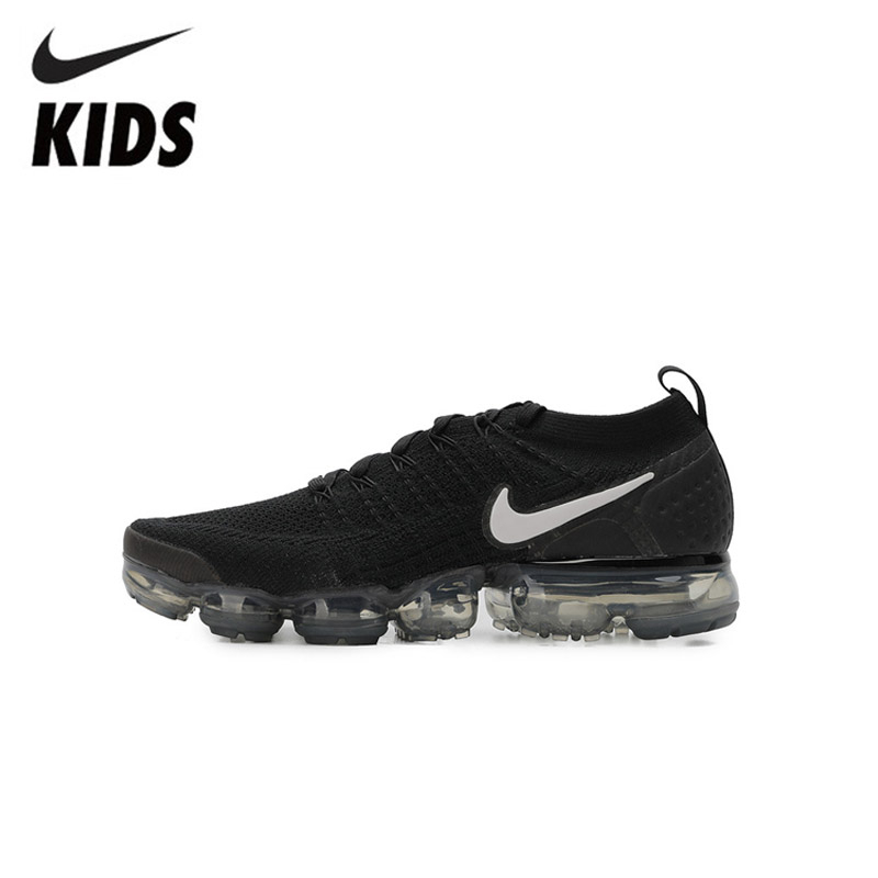 Nike Kids Shoes Sports-Sneakers Flyknit Air-Vapormax Children Original 2 Outdoor -942842