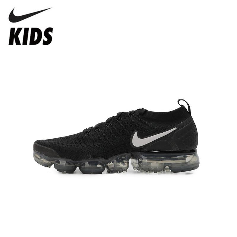 Nike Air Vapormax Flyknit 2 Kids Shoes Original Air Cushion Children Running Shoes Outdoor Sports Sneakers #942842