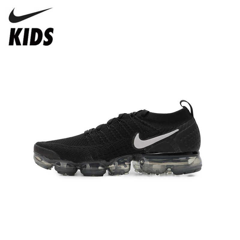 Nike Air Vapormax Flyknit 2 أطفال أحذية الأصلي وسادة هوائية الأطفال احذية الجري الرياضة في الهواء الطلق أحذية رياضية #942842