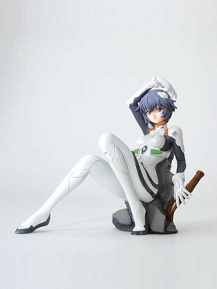 Resin Figure Kit 1/7 Evagelion Rei Ayanami Garasi Resin Kit