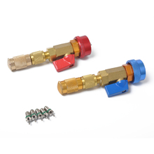 Removal-Tool-Kit R134a Valve-Core Car-Air-Conditioner Quick-Remover AC 2pcs