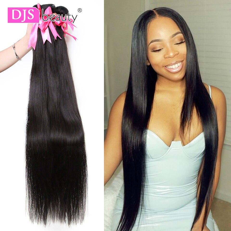 8 30 40 Inch Brazilian Hair Weave Bundles Long Length 1 3 4 Pcs Human Hair Bundles Straight Natural Color Remy Hair Extensions Salon Bundle Hair Aliexpress