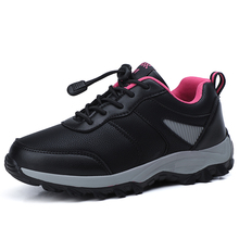Trekking-Shoes Sport-Boots Outdoor Sneakers Waterproof Women Winter for Elastic-Band