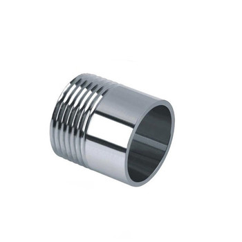 Brand New High Quality 1 Thread Pipe Fittings Single Male Stainless Steel SS304