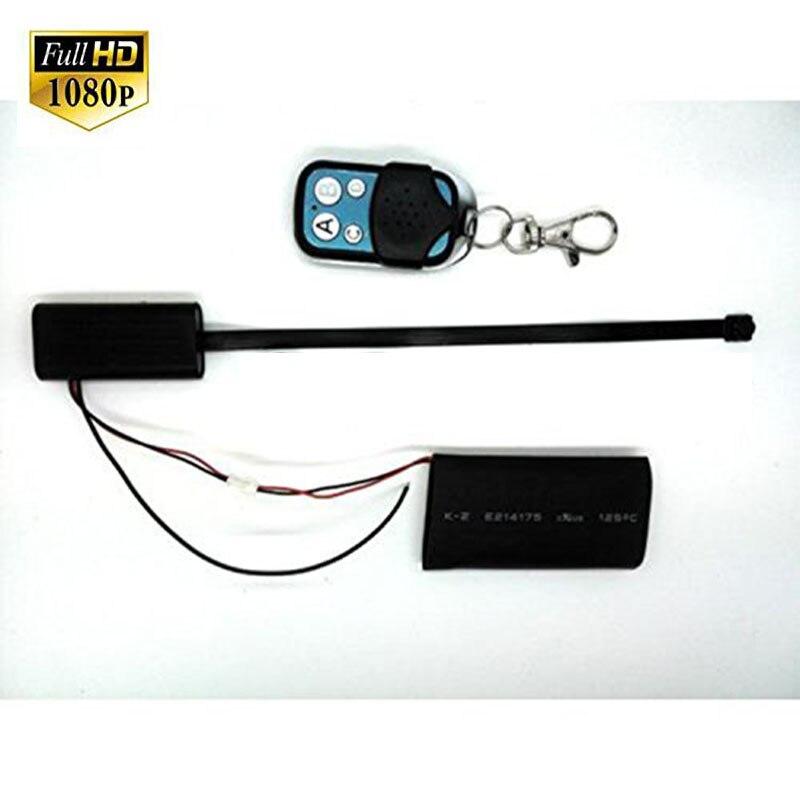 Мини-камера «сделай сам», 1080P, маленькая камера, видео, голосовой видеорегистратор, записывающее устройство, потайная камера с датчиком движ...