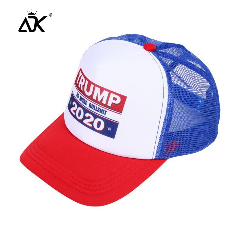 Donald Trump 2020 Hat Adjustable Mesh Cap Political Patriot Hat Trump For President Caps Baseball Cap Summer