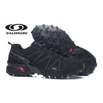 Original Salomon Speed Cross 3.5 CS Flyline Men Running Shoes Outdoor Sports speed cross men Running Shoes Sneaker