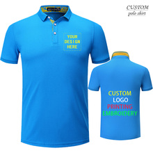 Embroidered Polo Shirt 9 Colours Size S-4XL Personalised With Text Custom Work Wear Staff- Free Logo Setup -