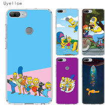 Uyellow Homer Draw Simpson Silicone Phone Case For Huawei Honor 8A 8X 8C 8S 9 9X 10 20 lite Pro Play 20i V20 Cover