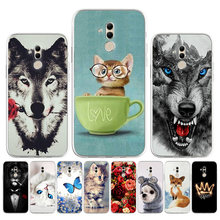 Silicon Case Voor Huawei Mate 20 Pro Case Leuke Animal Bloemen Telefoon Bumper Huawei Mate 40 Pro Plus 30 Nova 5T Mate20 Mate40 Cover