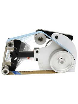 Small Abrasive Belt Machine220V Sander Belt Grinder Industrial Grade Electric Polisher Woodworking Sanding Grinding Machine - DISCOUNT ITEM  28 OFF Tools