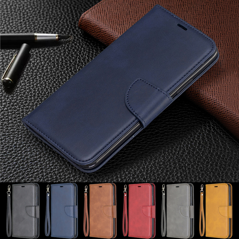 Wallet <font><b>Leather</b></font> Flip <font><b>Case</b></font> For Fundas <font><b>Huawei</b></font> Y9 Y7 <font><b>Y5</b></font> Y6 Prime <font><b>2018</b></font> 2019 Coque Back Cover For Honor 9x 7a 7c 7X 8A 8C X 8S 6C Capa image