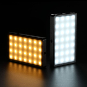 Image 5 - RB08/RB08P Ultra Thin Dimmable LED Video Light LED Display with Battery On Camera DSLR Photography Lighting Fill Light