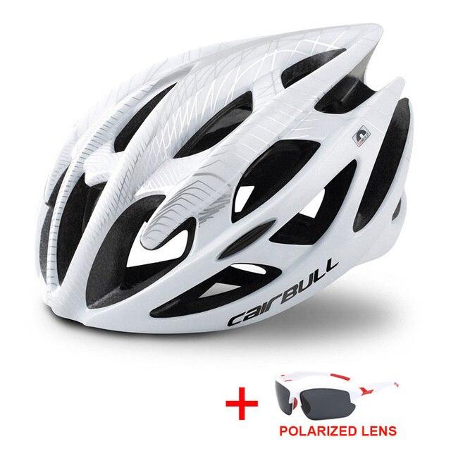 Profissional estrada mountain bike capacete com óculos ultraleve dh mtb todo o terreno capacete da bicicleta esportes equitação ciclismo capacete 5