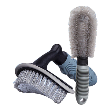 Auto Wheel Tire Soft Hair Brushes Set Car Vehicle Auto Detailing Cleaning Rim Wash Cleanning Tools Car Accessories kkmoon auto vehicle switches