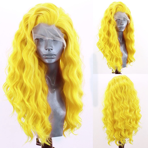 Charisma Long Wavy Wig Synthetic Lace Front Wig Hear Resistant Fiber Hair Side Part Lace Wigs for Women Cosplay Wigs